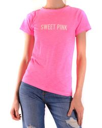 Sweet Matilda Pink Cotton T-shirt