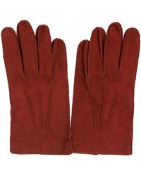 Merola Gloves Red Leather Gloves