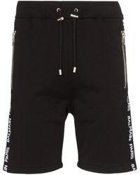 Balmain Shorts Sh15659 J928 0pa - Black