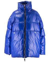 Khrisjoy Polyester Down Jacket - Blue