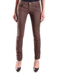 Jeckerson Brown Cotton Pants