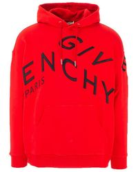 Givenchy ANDERE MATERIALIEN SWEATSHIRT - Rot