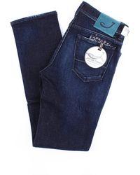 Jacob Cohen Dunkle jeans modell 688 - Blau