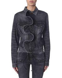 Unravel Project Denim Jacket - Black
