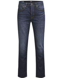 Jack & Jones Blue Cotton Jeans