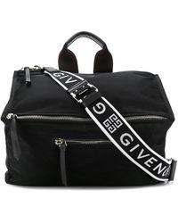 Givenchy SCHWARZ POLYAMID REISETASCHE