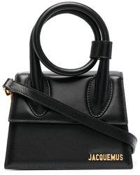 Jacquemus Leather Handbag - Black