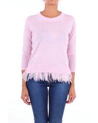 Seventy Pink Wool Sweater