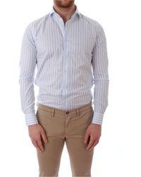 Xacus Light Blue Cotton Shirt