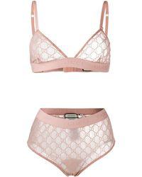 Gucci POLYAMID UNTERWÄSCHE & BADEMODE - Pink
