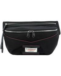 Givenchy Black Polyamide Belt Bag