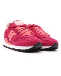 Saucony Suede Trainers - Pink
