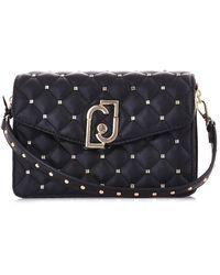 Liu Jo Black Faux Leather Shoulder Bag