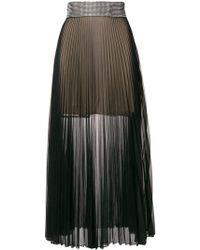 Christopher Kane Black Polyester Skirt