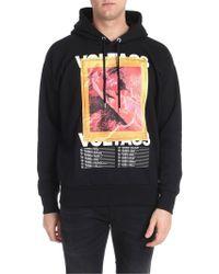 DIESEL Black Cotton Sweatshirt