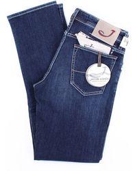 Jacob Cohen Jeans modell 625 dunkelblau