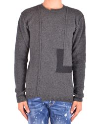 Isabel Benenato - Grey Wool Sweater - Lyst