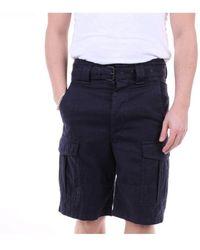 Isabel Marant Leather Shorts - Blue