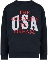 Rhude Rhps21sw000000010015 Cotton Sweatshirt - Black