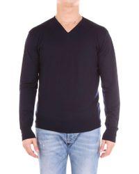 Cruciani Blue Wool Sweater