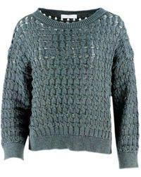 Fabiana Filippi Cotton Sweater - Green