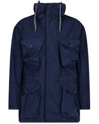 Aspesi - Polyester Outerwear Jacket - Lyst