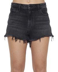 Alexander Wang Cotton Shorts - Black