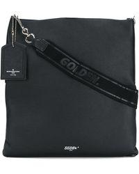 Golden Goose Deluxe Brand Black Leather Shoulder Bag