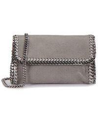 Stella McCartney Grey Faux Leather Belt Bag - Gray