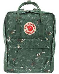 Fjällräven Kånken - Green Polyester Backpack - Lyst