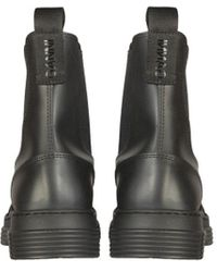 Ganni Other Materials Ankle Boots - Black
