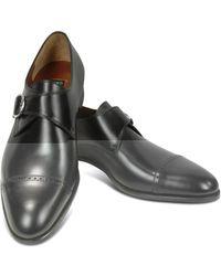 Fratelli Rossetti Monk Strap Schuhe schwarz