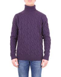 Jeordie's Purple Wool Sweater