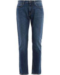 Emporio Armani Cotton Jeans - Blue