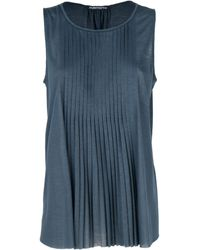 Purotatto Modal Tank Top - Blue