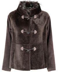 Fabiana Filippi Wool Coat - Brown