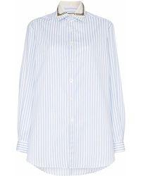 Gucci Light Cotton Shirt - Blue