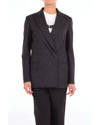 Dondup - Black Leather Jacket - Lyst