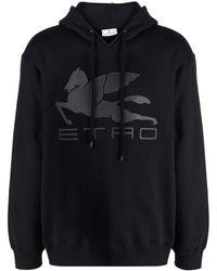 Etro Felpa con stampa - Nero