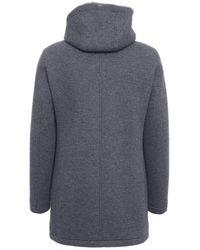 Herno Pa010ur13146s9294 Cotton Coat - Grey