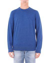 Michael Kors Blue Wool Sweater