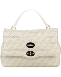 Zanellato White Leather Handbag