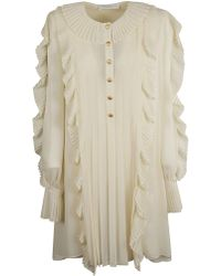 Philosophy - White Polyester Dress - Lyst