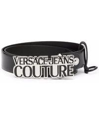 Versace Jeans Couture Cintura 71ya6f04zp059899 pelle - Nero