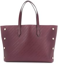 Givenchy - Burgundy Leather Tote - Lyst