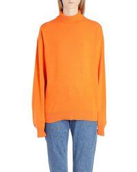 Calvin Klein BAUMWOLLE PULLOVER - Orange