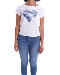 Molly Bracken Cotton T-shirt - White