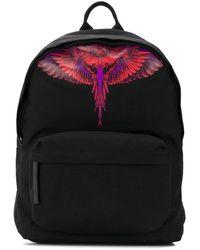 Marcelo Burlon Polyester Backpack - Black
