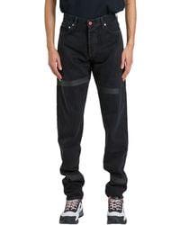 Heron Preston - Black Cotton Jeans - Lyst