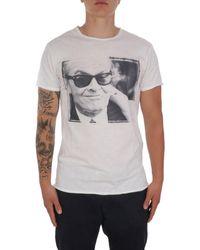 1921 Jeans 007ss3434 baumwolle t-shirt - Weiß